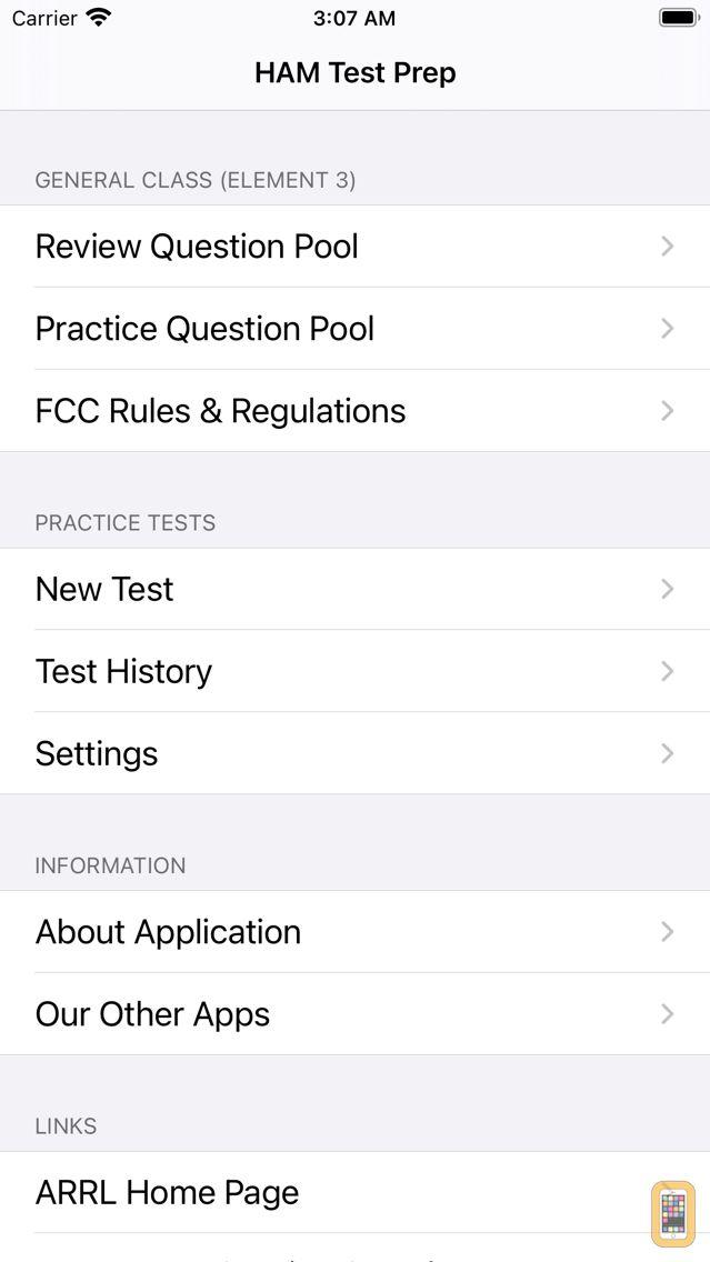 Screenshot - HAM Test Prep:  General