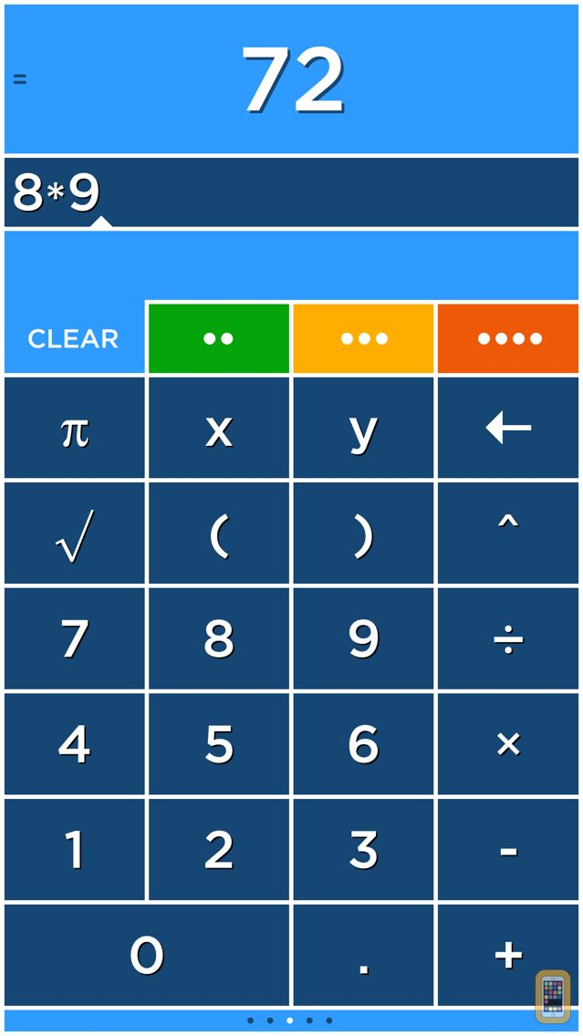 Screenshot - Solve - A colorful graphing calculator