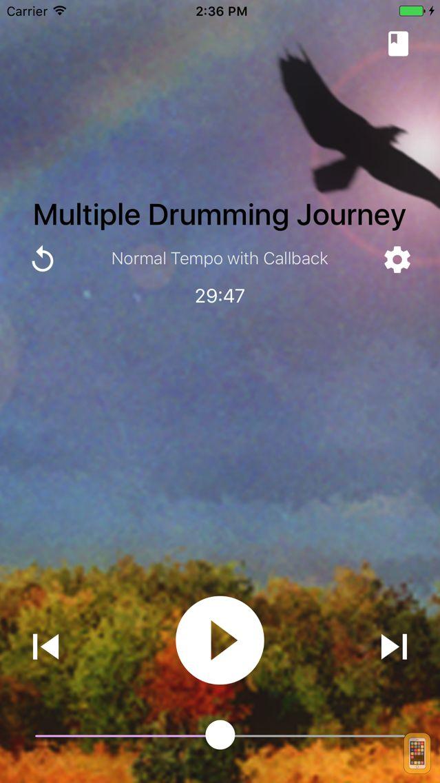 Screenshot - Shamanic Journey Drumming - Frauke Rotwein