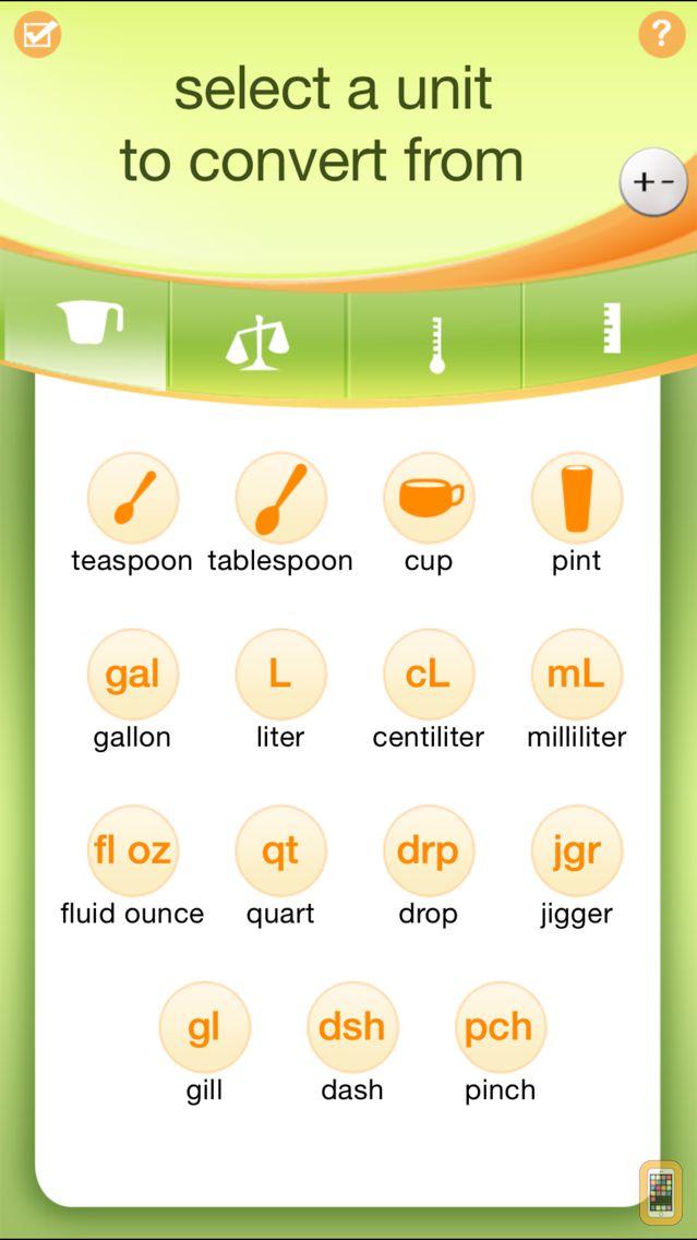 Screenshot - Kitchen Calculator