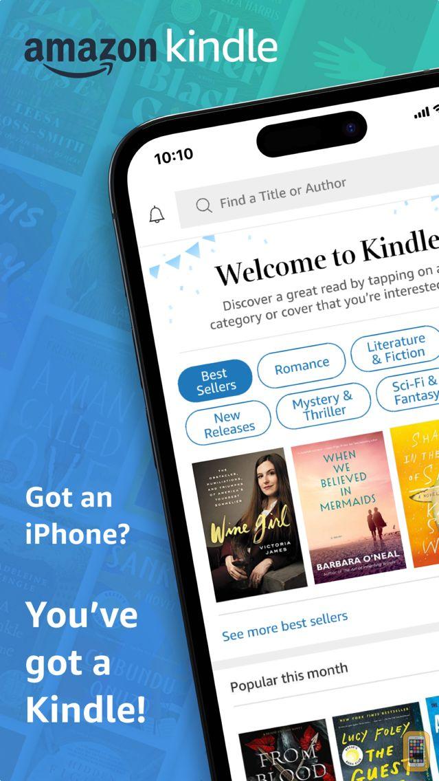 Screenshot - Kindle – Read eBooks, Magazines & Textbooks