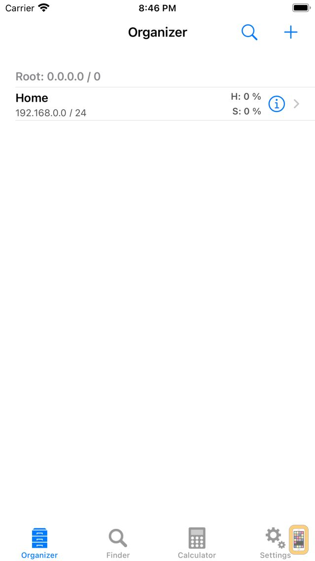 Screenshot - Subnet Calc Pro