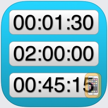 Easy UP/down Timers by Greg Morris (iPhone)