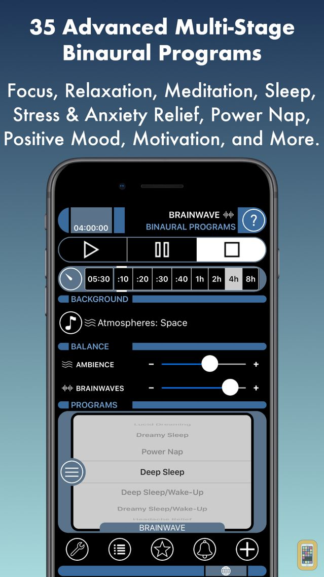 Screenshot - BrainWave: 35 Binaural Series™
