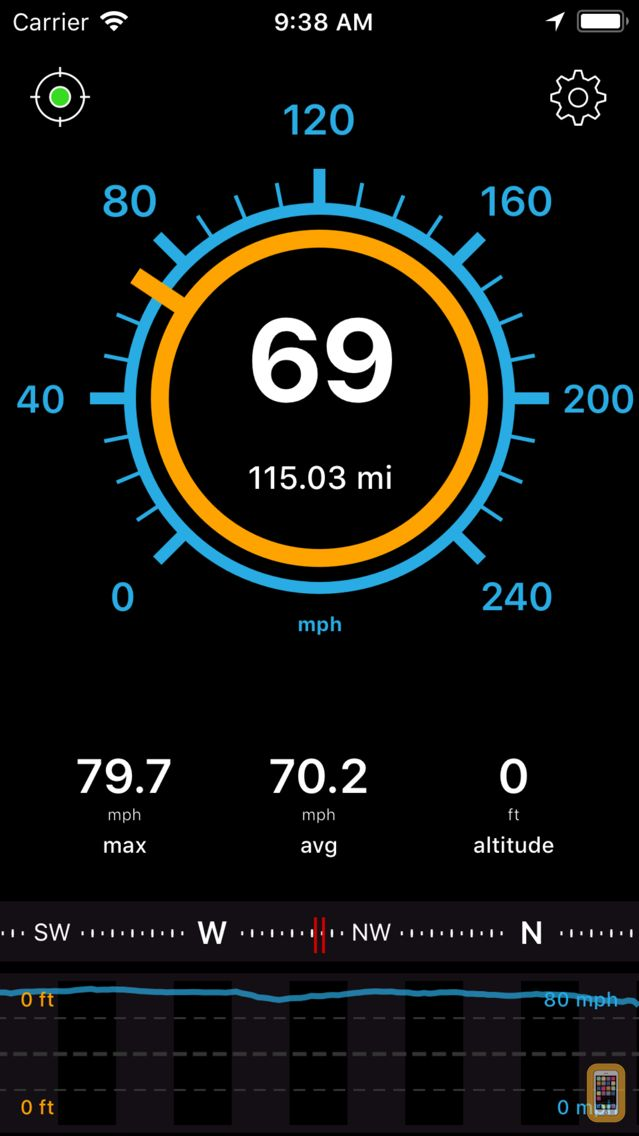 Screenshot - Speedometer Speed Box App