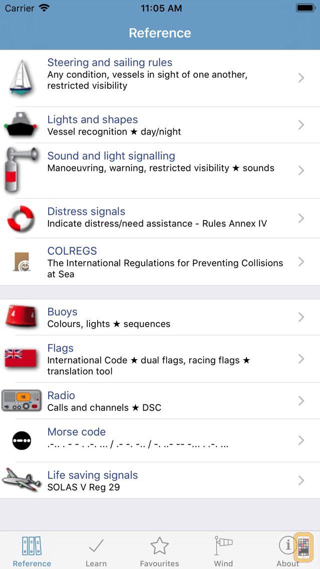 Screenshot - Marine Rules & Signals