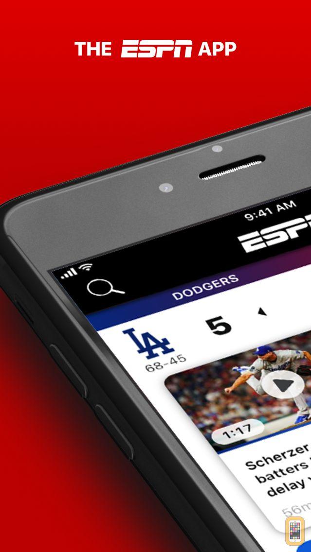 Screenshot - ESPN: Live Sports & Scores