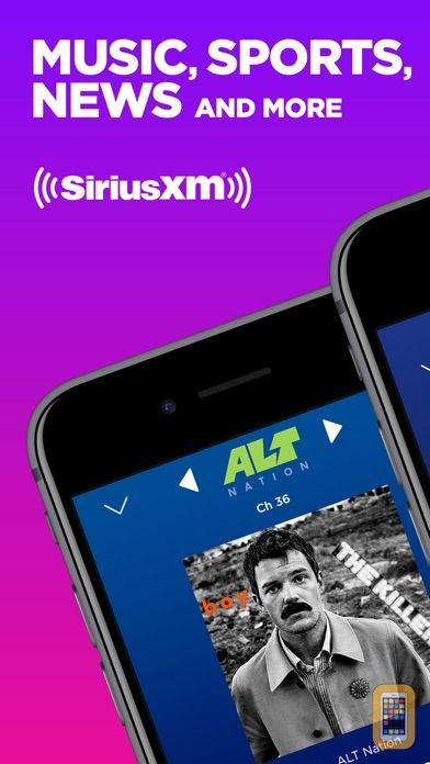 Screenshot - SiriusXM-Music, Comedy, Sports