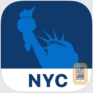 New York Travel Guide and Offline City Map by FUA Travel Guides Media B.V. (Universal)