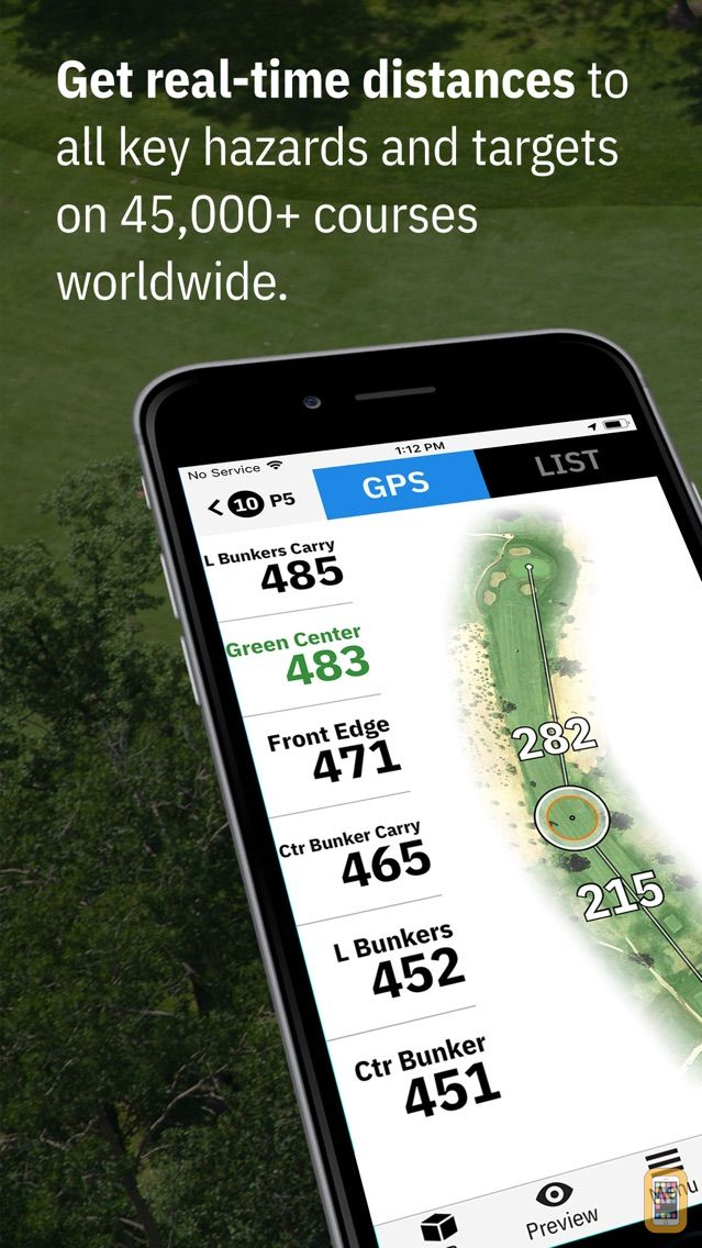 Screenshot - Golfshot Plus