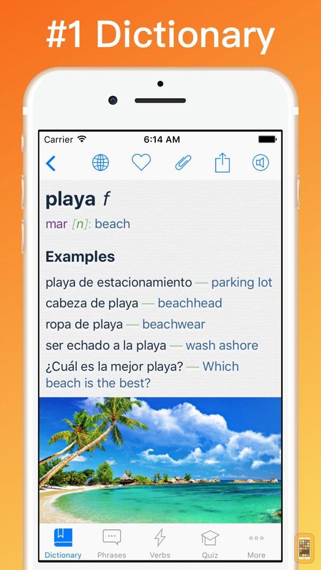 Screenshot - Spanish Dictionary + ©