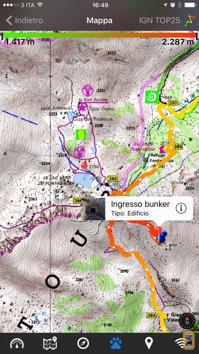 Screenshot - EasyTrails GPS