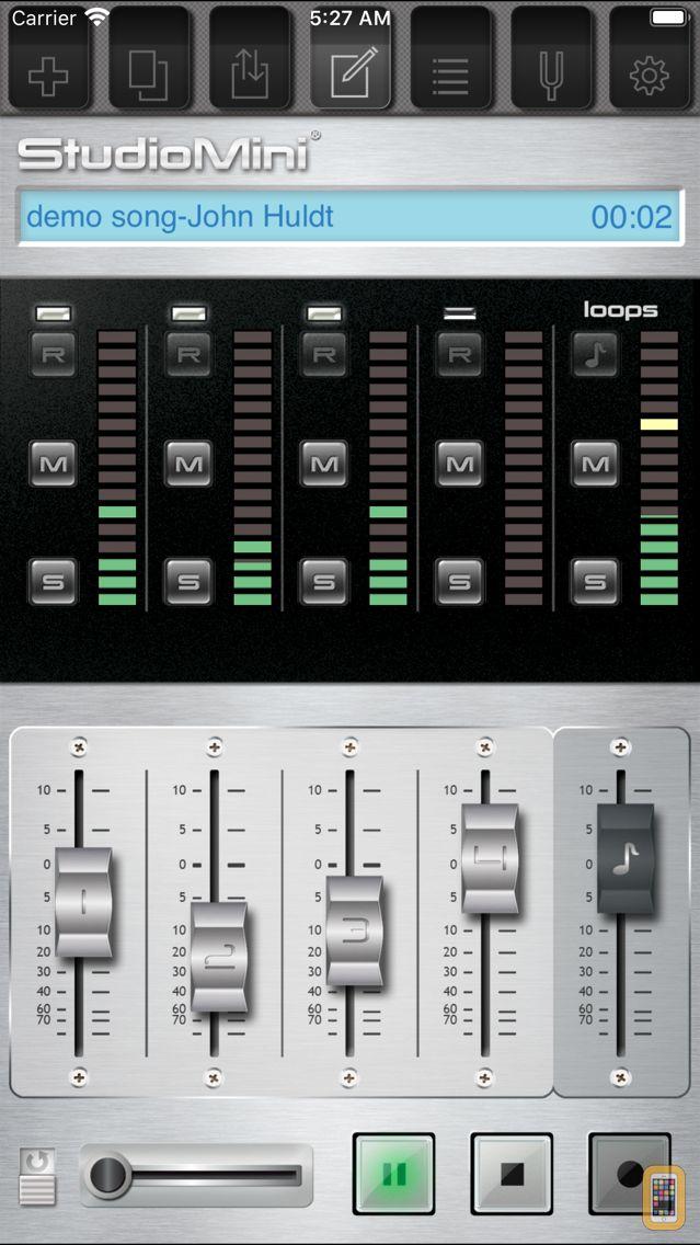 Screenshot - StudioMini - Your trusty music recorder