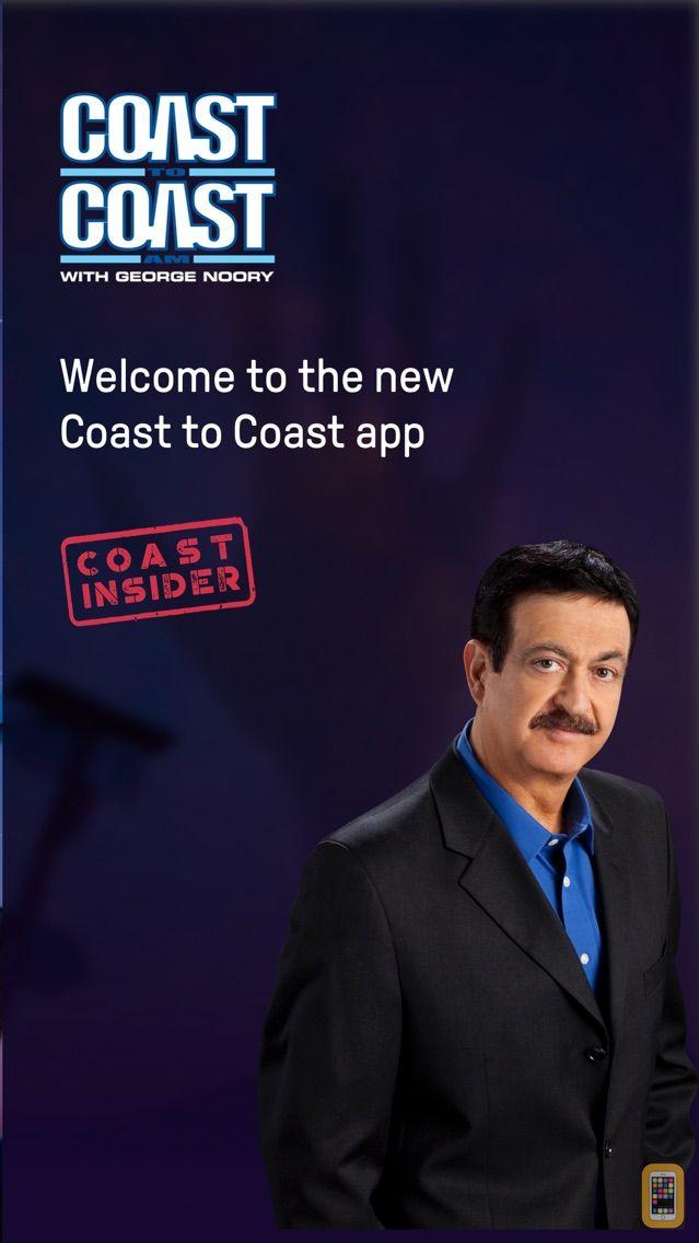 Screenshot - Coast to Coast AM Insider