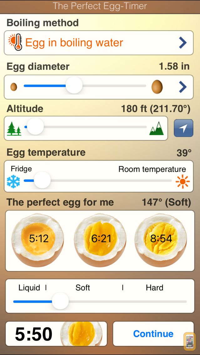 Screenshot - The perfect Egg timer
