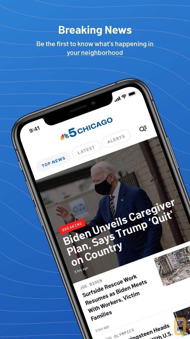 Screenshot - NBC 5 Chicago: News & Weather
