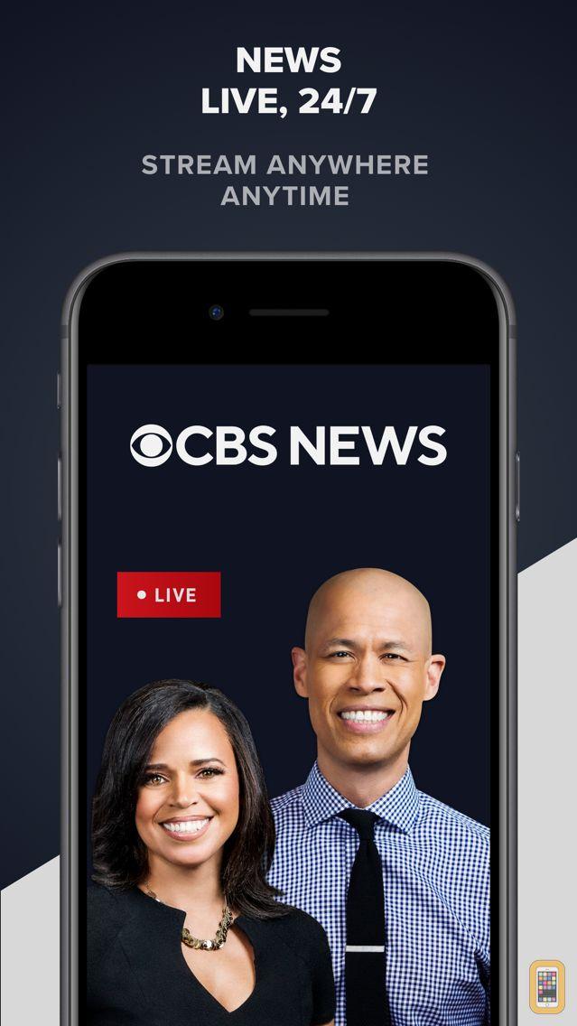 Screenshot - CBS News: Live Breaking News