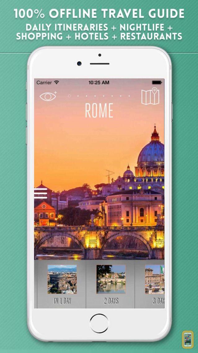 Screenshot - Rome Travel Guide and Offline City Map