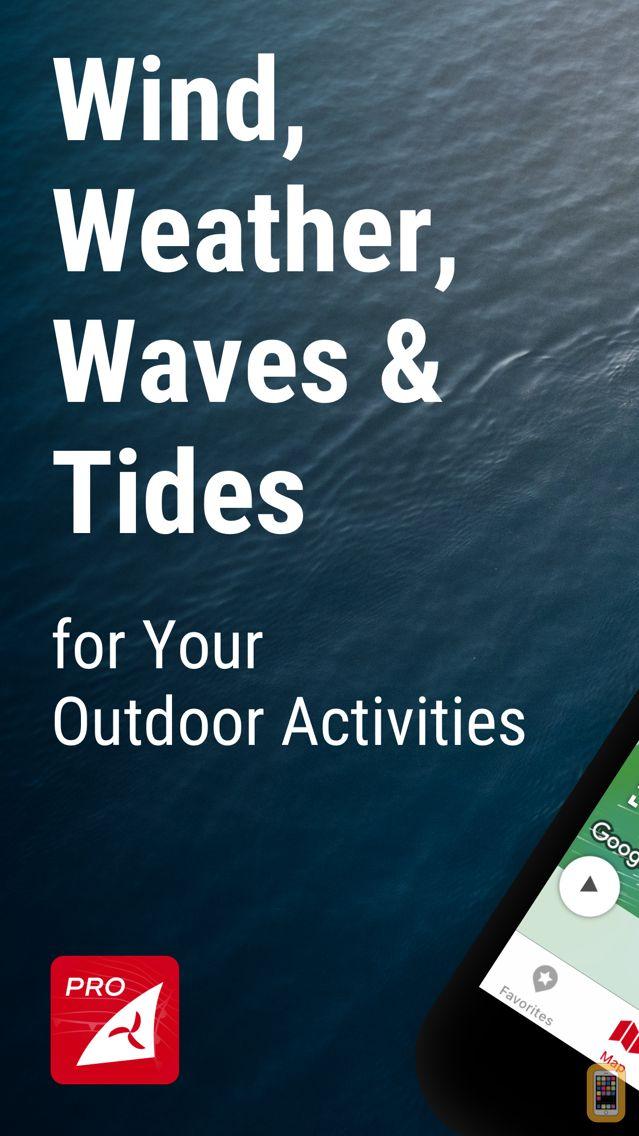 Screenshot - Windfinder Pro: Wind & Weather
