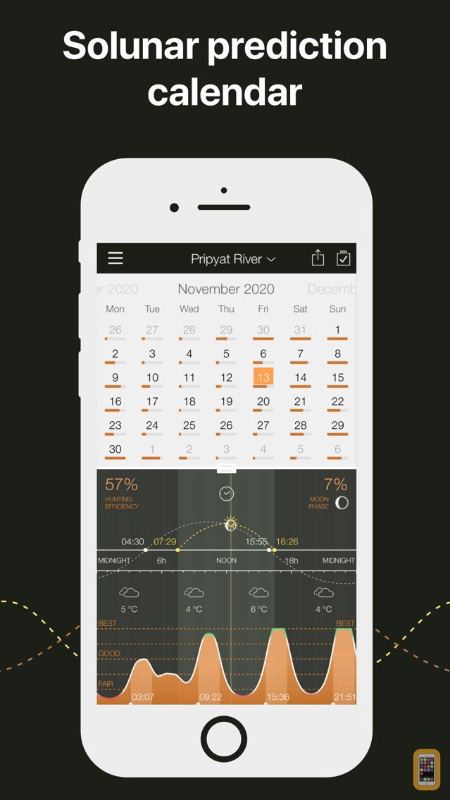 Screenshot - Hunting Calendar