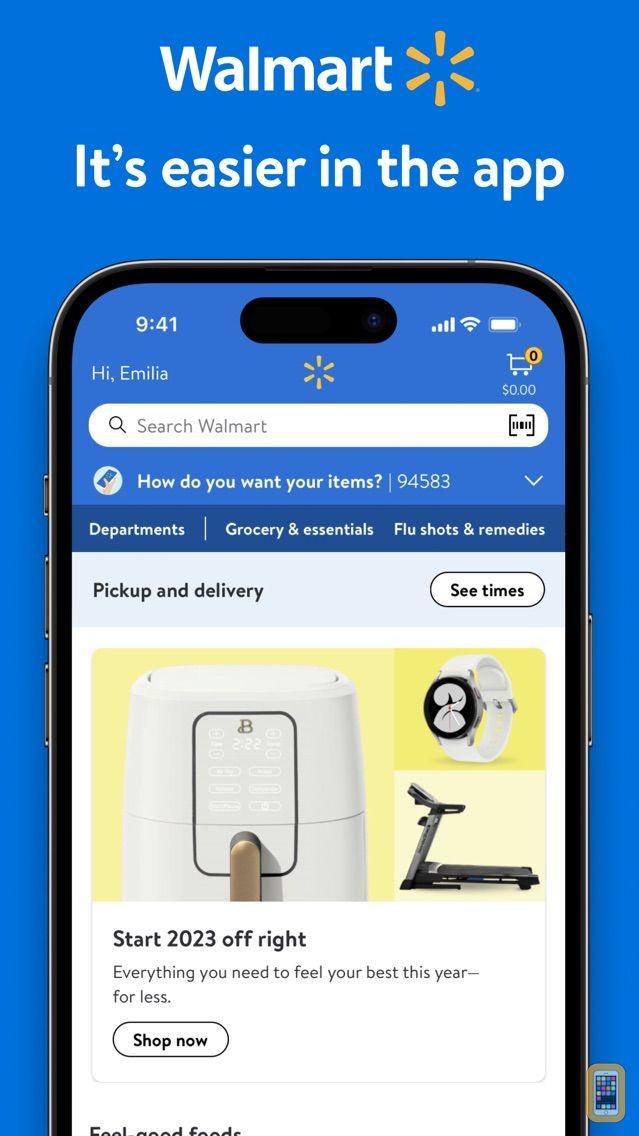 Screenshot - Walmart - Shopping & Grocery