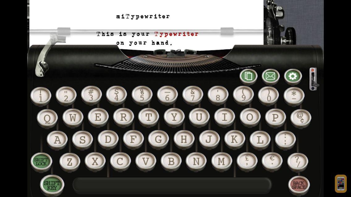 Screenshot - miTypewriter