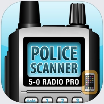 5-0 Radio Pro Police Scanner (Extra Feeds) by Smartest Apps LLC (Universal)
