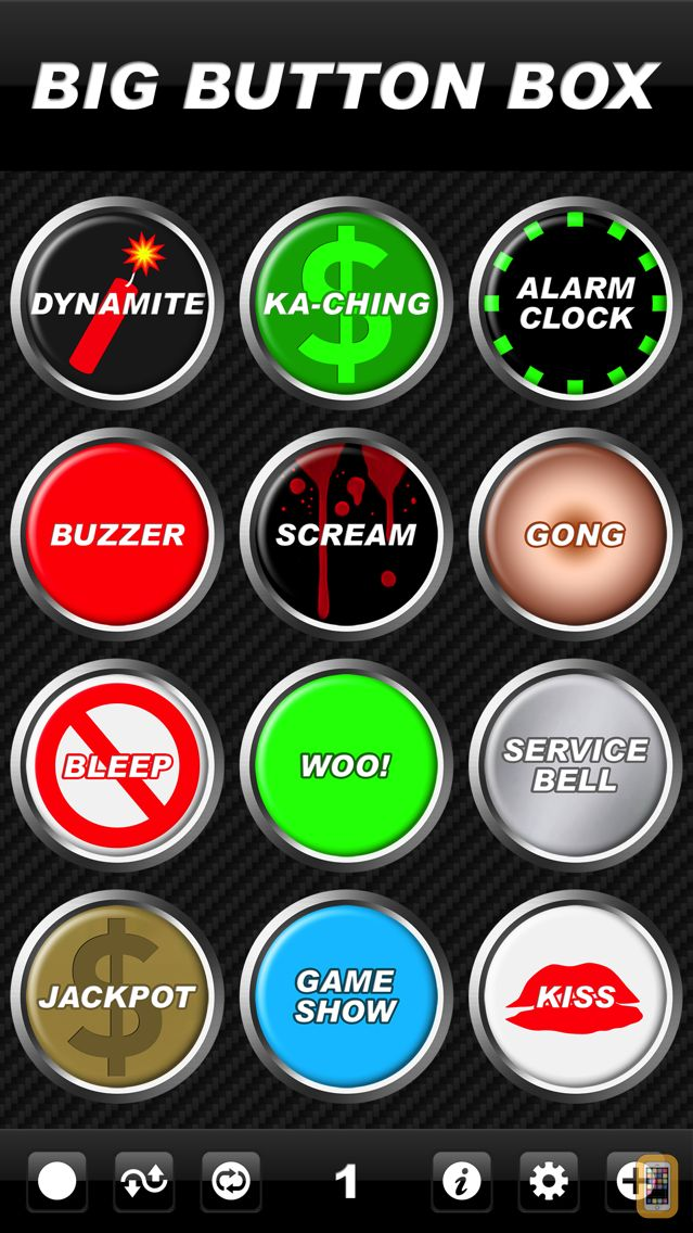 Screenshot - Big Button Box - funny sound effects & loud sounds