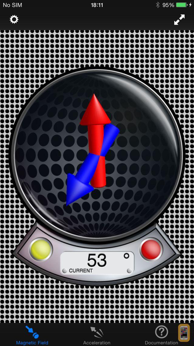 Screenshot - MagnetMeter