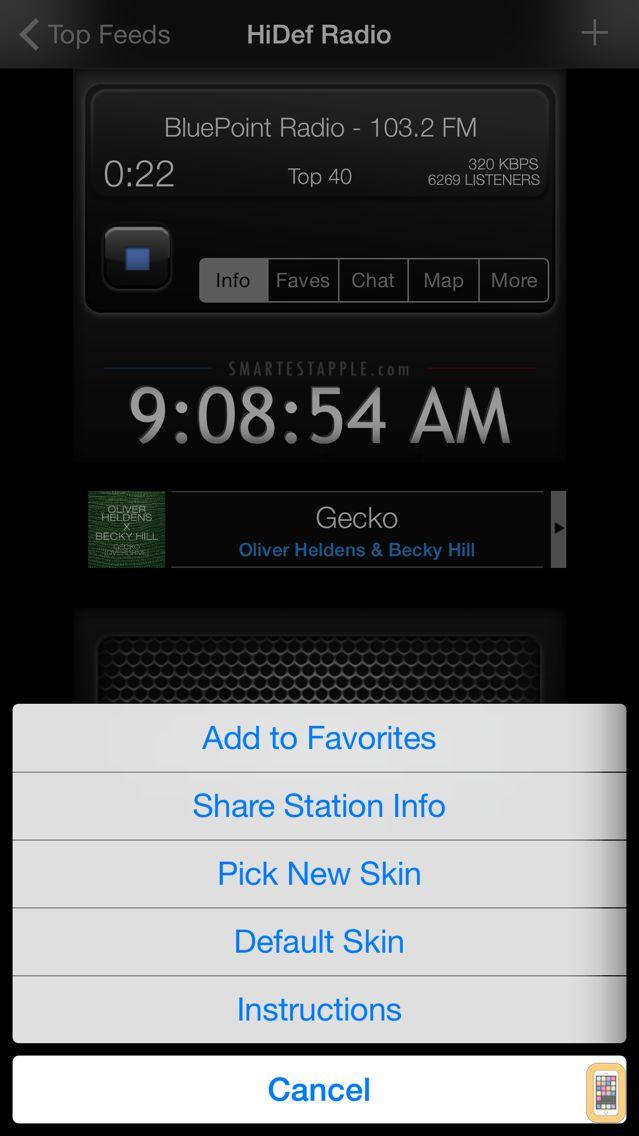 Screenshot - HiDef Radio Pro - News & Music Stations