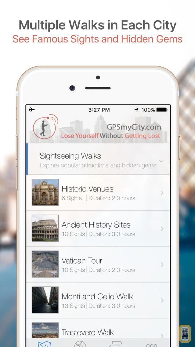 Screenshot - Rome Map & Walks (F)