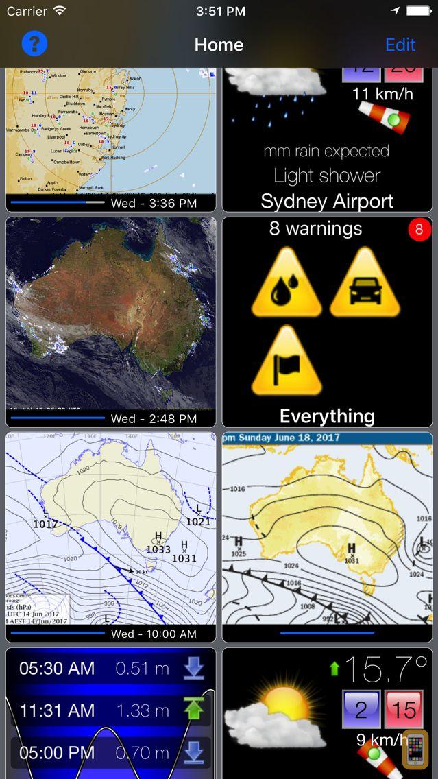 Screenshot - Oz Radar Weather