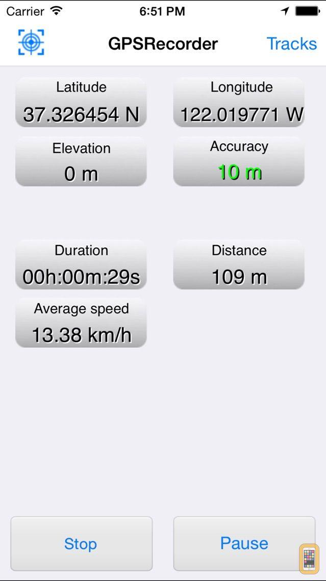 Screenshot - GPSRecorder