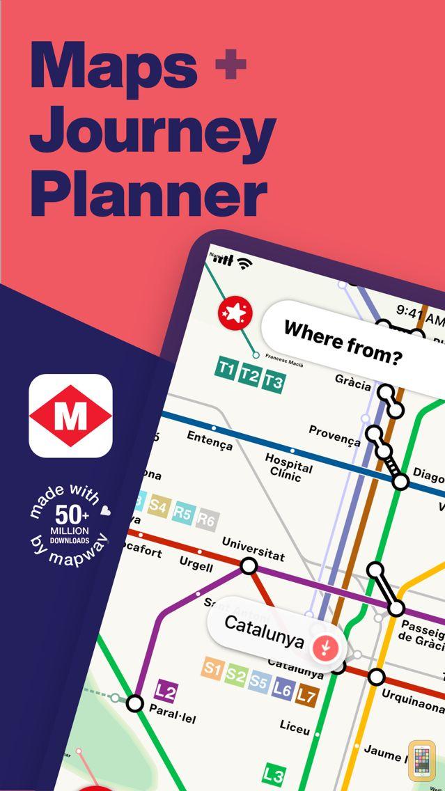 Screenshot - Barcelona Metro - TMB Map