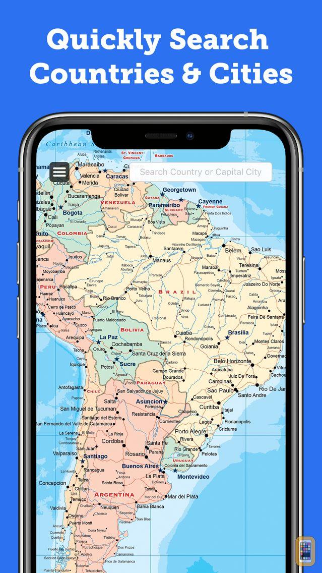 Screenshot - World Map 2020 Pro