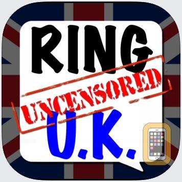 9,999 Ringtones Uncensored UK British Voices Ringtone Creator by No Tie, LLC (Universal)