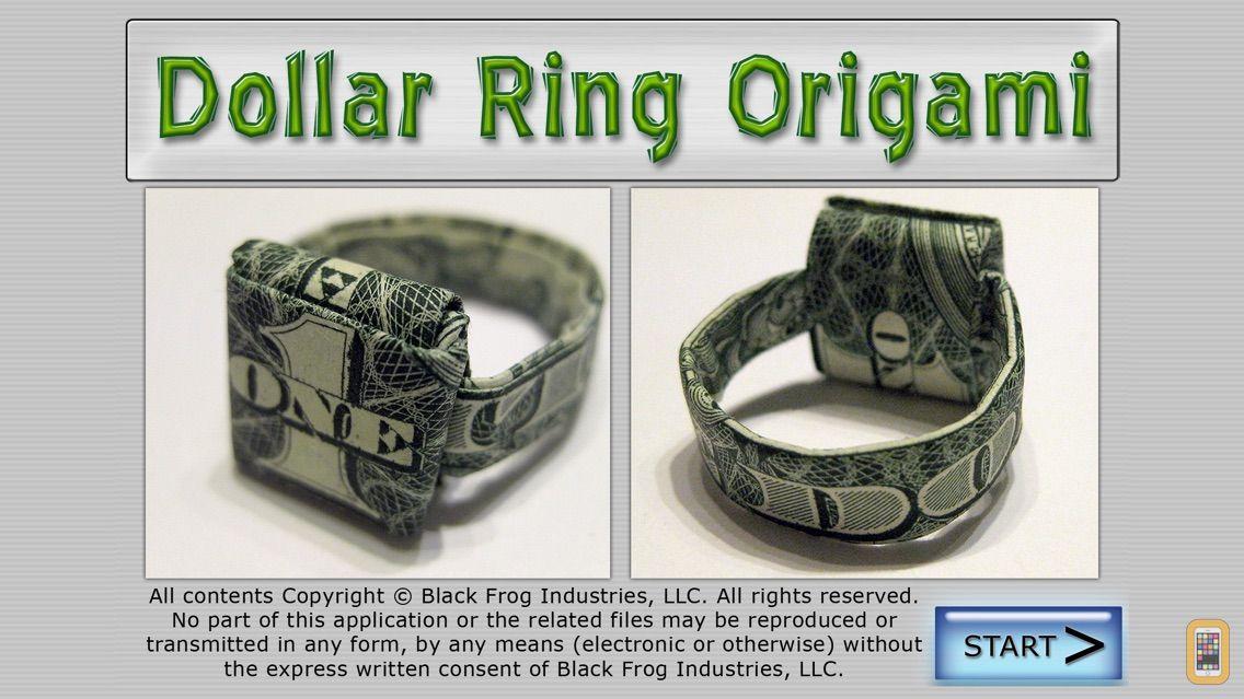 Screenshot - Dollar Ring Origami