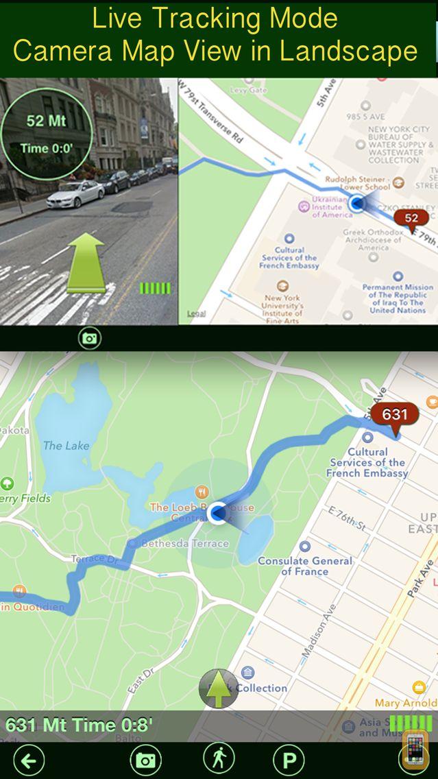 Screenshot - Parking+GPS Locations