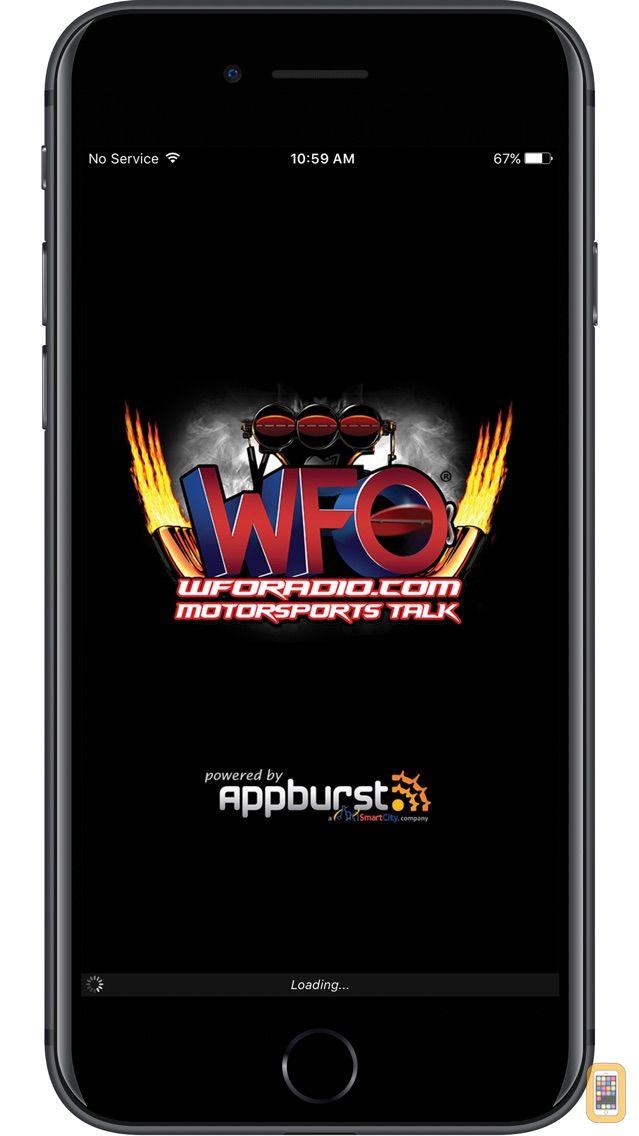Screenshot - WFO Radio NHRA NASCAR Podcast