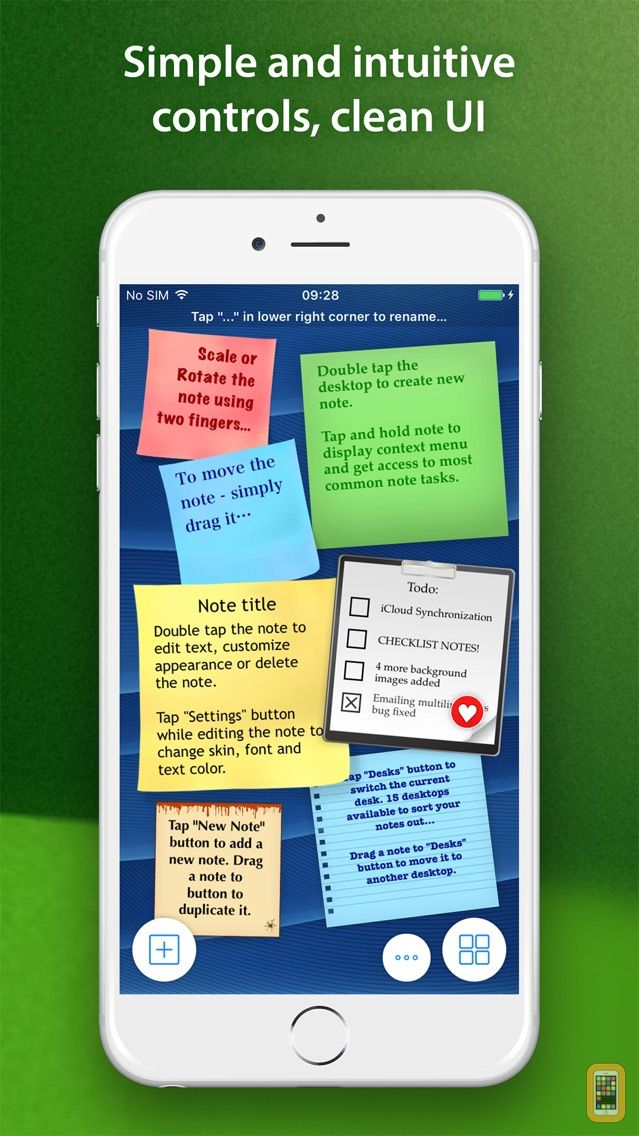 Screenshot - abcNotes Full Version