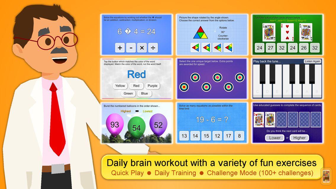 Screenshot - Brain App