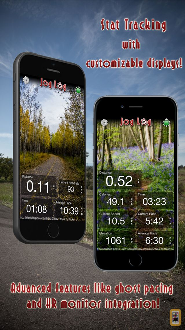 Screenshot - Jog Log - GPS Running, Walking, Cycling, and Workout Tracker