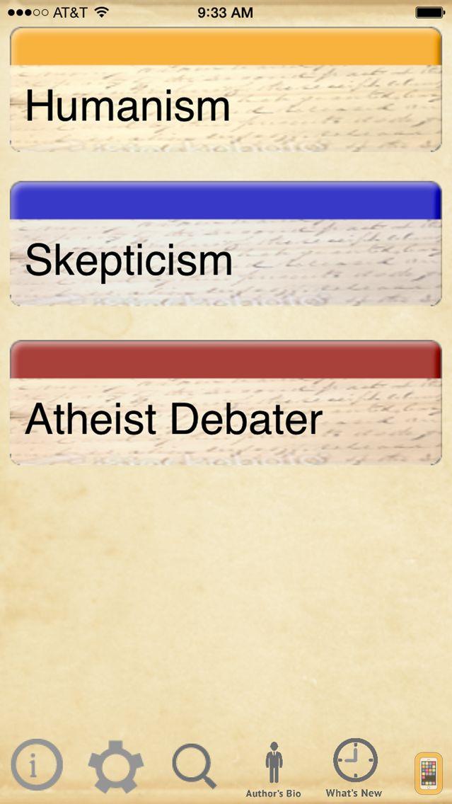 Screenshot - Atheist Pocket Debater