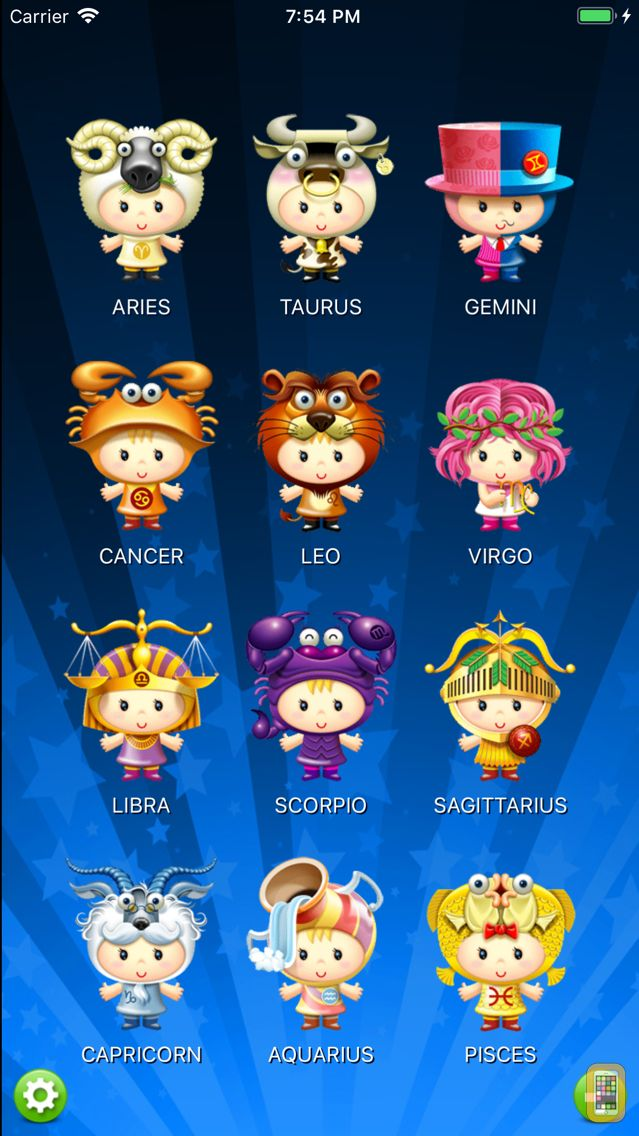 Screenshot - Horoscope HD Pro