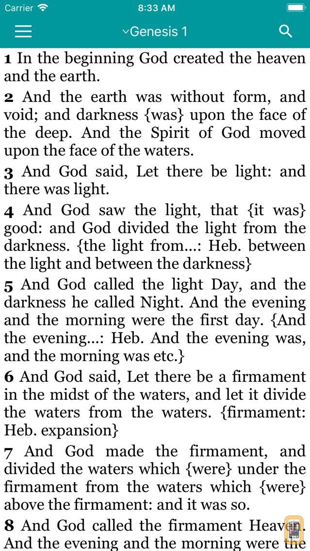 Screenshot - Bible - Holy Scriptures