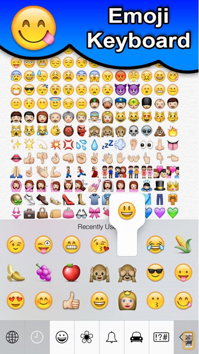 Screenshot - SMS Smileys Emoji Sticker PRO