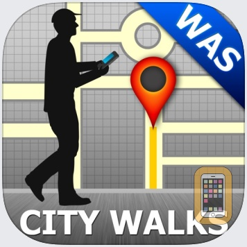 Washington DC Map & Walks (F) by GPSmyCity.com, Inc. (Universal)