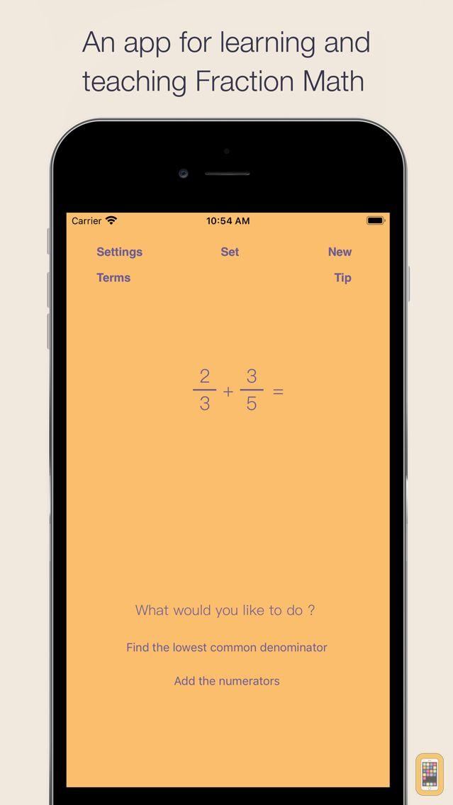 Screenshot - Fraction Math