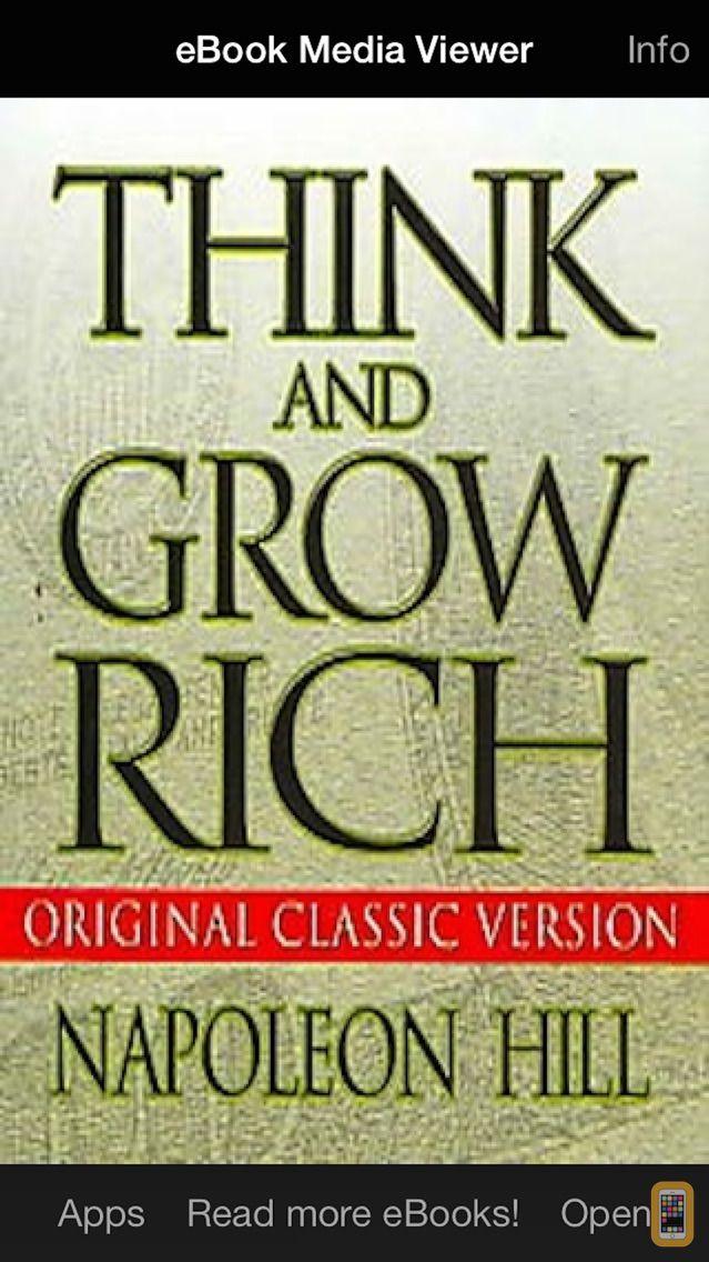 Screenshot - eBook: Think and Grow Rich