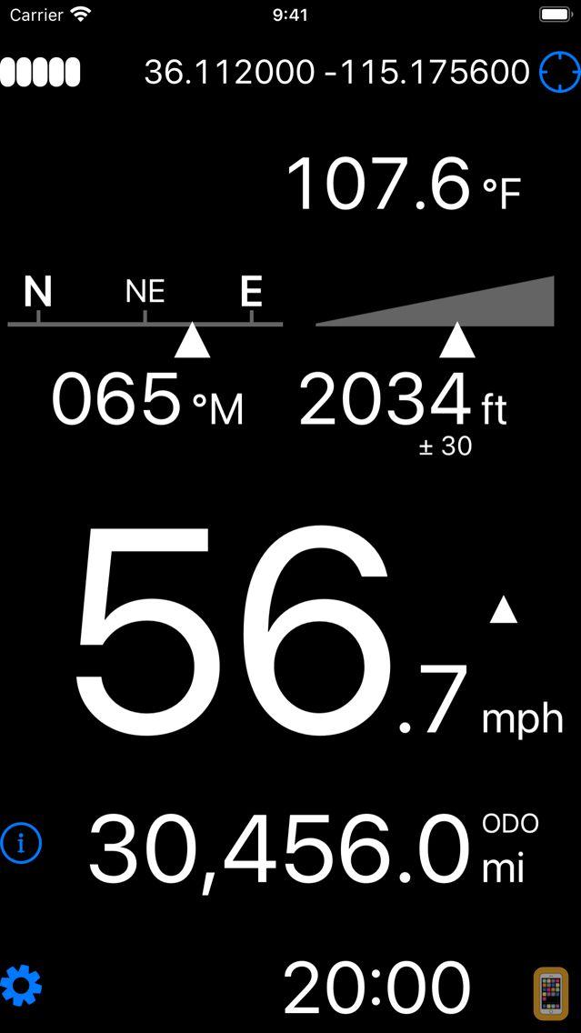 Screenshot - Dashometer